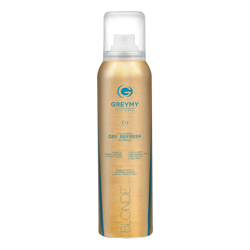 IMG 0660 1024x1024 - GREYMY VOLUMIZING DRY REFRESH SHAMPOO BLONDE - 150 ml